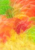 Colorful abstract fruit background Royalty Free Stock Image