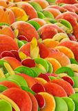 Colorful abstract fruit background Royalty Free Stock Photo
