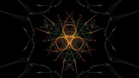 Colorful abstract futuristic background. Silk symmetry series royalty free illustration