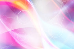 Colorful Abstract Futuristic Background Royalty Free Stock Photography