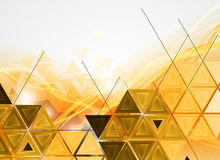 Colorful abstract geometric background for design Royalty Free Stock Photos