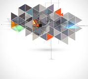 Colorful abstract geometric background for design Stock Photography