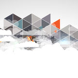 Colorful abstract geometric background for design Royalty Free Stock Images
