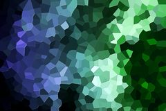 Abstract geometric polygons and triangles. Colorful abstract geometric background with  solid figures. Abstract modern background with  green and blue polygons Royalty Free Stock Images