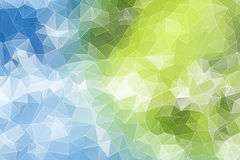 Colorful abstract geometric background Stock Photography