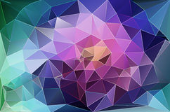 Colorful abstract geometric background. With triangular polygons Royalty Free Stock Image