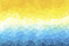 Colorful abstract geometric background. With triangular polygons Royalty Free Stock Photography