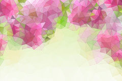 Colorful abstract geometric background. With triangular polygons Stock Photo