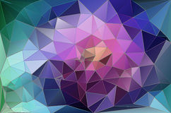 Colorful abstract geometric background. With triangular polygons Royalty Free Stock Photo