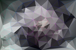 Colorful abstract geometric background. With triangular polygons Stock Image