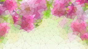 Colorful abstract geometric background Royalty Free Stock Image
