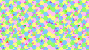 Colorful Abstract Geometric backgrounds. Royalty Free Stock Image