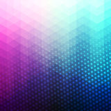 Colorful Abstract Geometric Vector Background Royalty Free Stock Photos