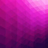Colorful Abstract Geometric Vector Background. Royalty Free Stock Photos