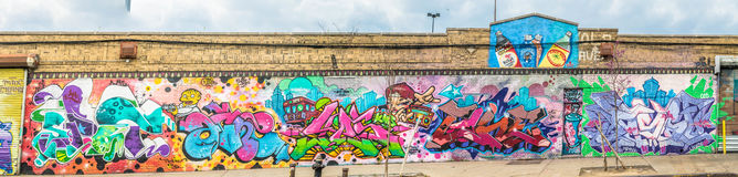 Colorful Abstract Graffiti World Stock Photos