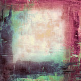 Colorful abstract grunge collage background with Stock Photo