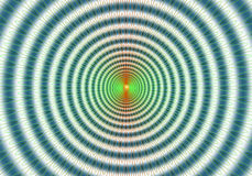 Colorful abstract hypnotic abstract background Stock Image
