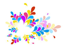 Colorful abstract illustration. Stock Photo