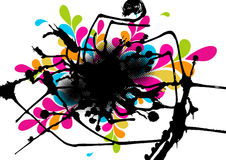 Colorful abstract illustration. Stock Photography