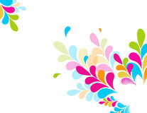 Colorful abstract illustration. Royalty Free Stock Photo