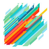 Colorful abstract illustration  Stock Image