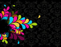 Colorful abstract illustration. Vector Stock Photo