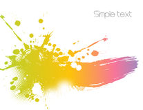 Colorful abstract illustration. Vector Royalty Free Stock Photos
