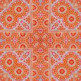 Abstract kaleidoscope or endless pattern. Royalty Free Stock Photos