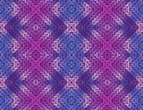 Colorful abstract knitted pattern Royalty Free Stock Image