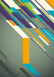 Colorful abstract layout. Royalty Free Stock Photography