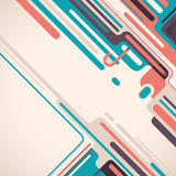Colorful abstract layout. Royalty Free Stock Photo