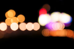 Colorful abstract light bokeh Royalty Free Stock Photo