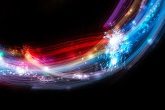 Colorful abstract line Royalty Free Stock Image