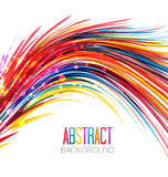 Colorful abstract line Stock Photos
