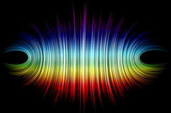 Colorful abstract lines for background Stock Photos