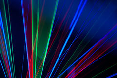 Colorful abstract lines background Stock Image