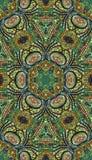 Colorful abstract mandala shapes 3 Royalty Free Stock Photography