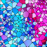 Colorful abstract mosaic background, vector Royalty Free Stock Image