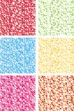 Colorful abstract mosaic backgrounds. Royalty Free Stock Photography