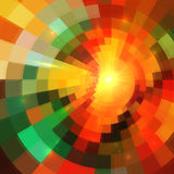 Colorful abstract mosaic mottled background Stock Photography