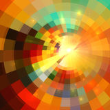 Colorful abstract mosaic mottled background stock illustration