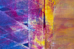 Colorful abstract oil painting background Stock Image
