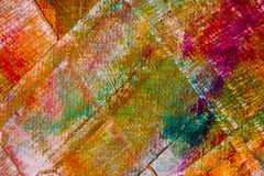 Colorful abstract oil painting background Royalty Free Stock Photos