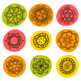 Colorful abstract ornament. Ethnic texture Royalty Free Stock Image