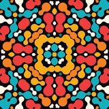 Colorful abstract ornament stock illustration