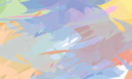 Colorful abstract painting Royalty Free Stock Image