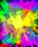 Colorful Abstract Painting Royalty Free Stock Photos