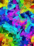 Colorful Abstract Painting Royalty Free Stock Photo