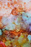Colorful abstract painting texture royalty free stock image