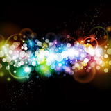 Colorful Abstract Party Background. A colorful party abstract background, good for celebration and dance events Royalty Free Stock Photography